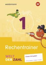Welt der Zahl Ausgabe 2021 - Interaktiver Rechentrainer 1 - Cover
