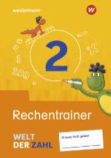 Welt der Zahl Ausgabe 2021 - Interaktiver Rechentrainer 2 - Cover