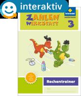 Welt der Zahl – Ausgabe 2015 Interaktiver Rechentrainer 3 - Cover