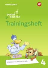 Denken und Rechnen interaktives Trainingsheft 4 – Ausgabe 2017 - Cover
