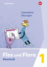 Flex und Flora - Ausgabe 2021 Interaktive Übungen 1 - Cover