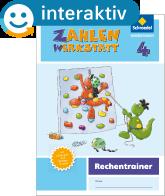 Welt der Zahl – Ausgabe 2015 Interaktiver Rechentrainer 4 - Cover